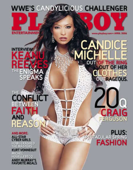 Candice Michelle - Playboy Pics