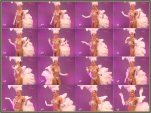 WWE Diva Melina_Showgirl_Costume